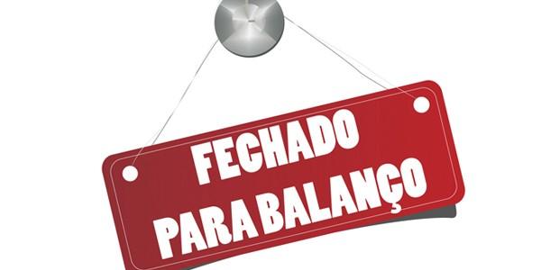 Resultado de imagem para FECHADO PRA BALANÇO