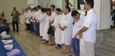 Batismo na 1° IAP de Votuporanga