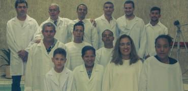 Batismo na IAP de Olímpia