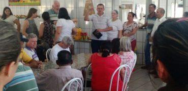 Visita ao Lar dos Velhinhos e Projeto Te Amo Meu Amigo