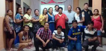 Visita da diretoria da convenção à Bolívia