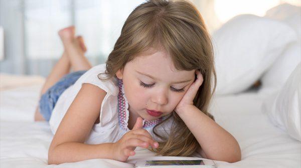 Crianças desconectadas da infância