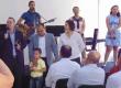 Posse do Pr. Elias Inácio na 2° igreja em Rio Preto
