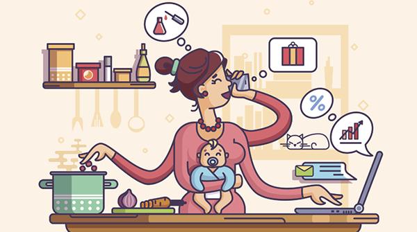 Sem tempo para Deus: a agitada tarefa de ser mãe