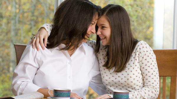 O melhor presente que uma mãe pode dar à sua filha