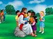 As brigas de Jesus por causa das crianças