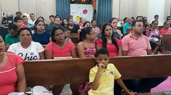Outubro Rosa na Igreja em Aparecida do Taboado